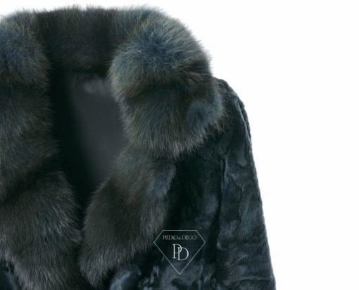 Abrigo de piel Swakara
