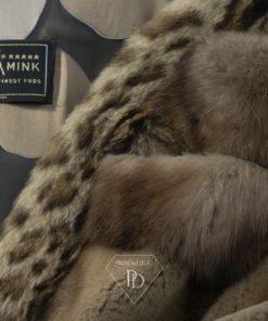 Abrigo Visón Despinzado-Ciara-Cibelina