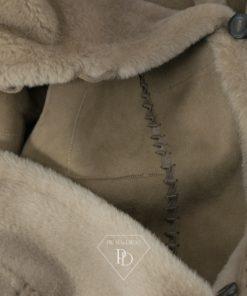 Abrigo de Piel Vuelta Grey