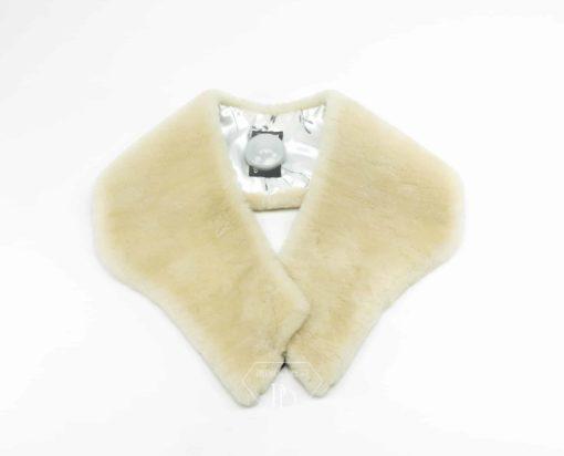 Cuello-Estola Mouton Perla