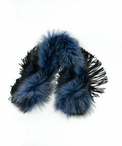 Cuello Zorro Blue Flecos