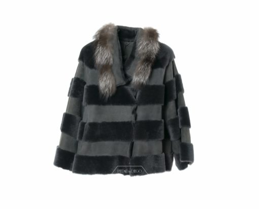 Chaqueta Double Face Grey