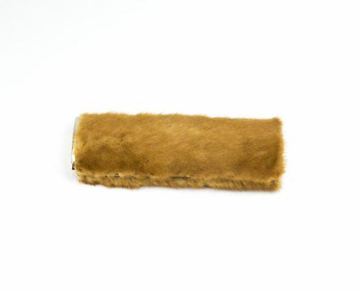 Bolso de mano en Visón Golden