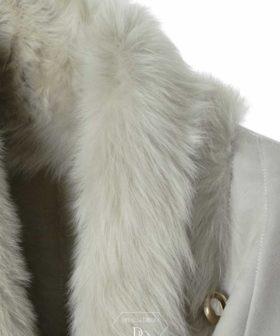 Abrigos de piel vuelta | Abrigo doble faz