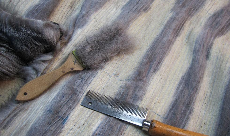 limpiar un abrigo de piel