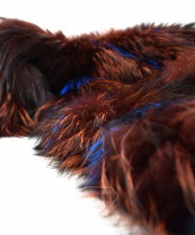 Abrigo de Zorro. Abrigo de piel de zorro