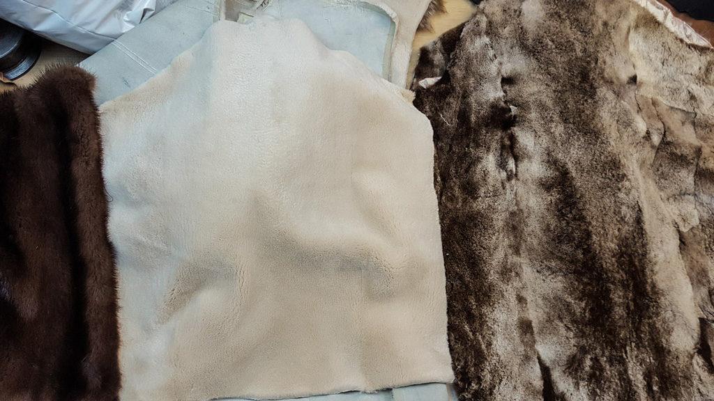 convertir abrigo de piel en manta