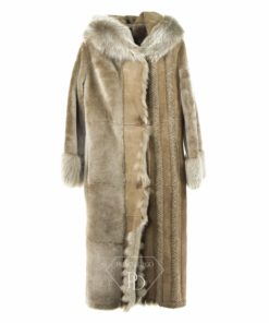 Abrigo de cordero - Abrigo de piel vuelta - Ademara