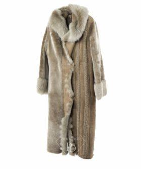 Abrigo de cordero - Abrigo de piel vuelta