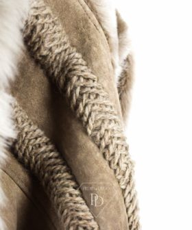 Abrigo de piel de Cordero - Ademara