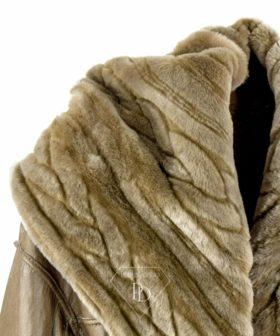 Abrigo de piel Vuelta Reversible Annisa