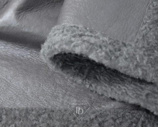 Abrigo Cordero Reversible - Piel Vuelta Reversible - Nefertari
