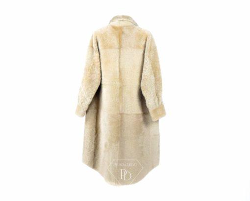 Abrigo de piel de Cordero Piel Vuelta Mujer-Lavella