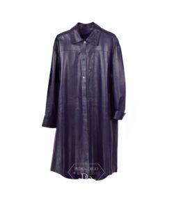 Abrigo de cuero mujer - Abrigo de cordero mujer