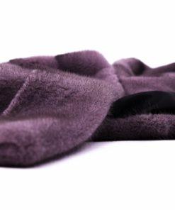 Chaquetón Visón Violeta - Chaquetón de piel de visón