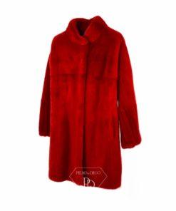 Abrigo Visón Rojo - Abrigo de piel de Visón Rojo