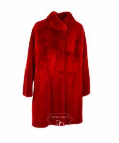 Abrigo Visón Rojo