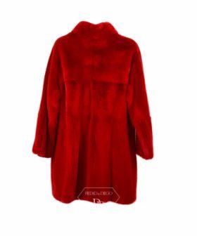 Abrigo Visón Rojo - Abrigo de piel de Visón