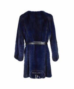 Abrigo piel visón - Sati
