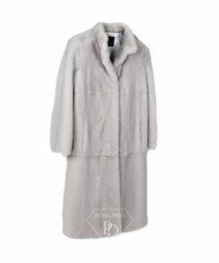 Abrigo en piel de visón