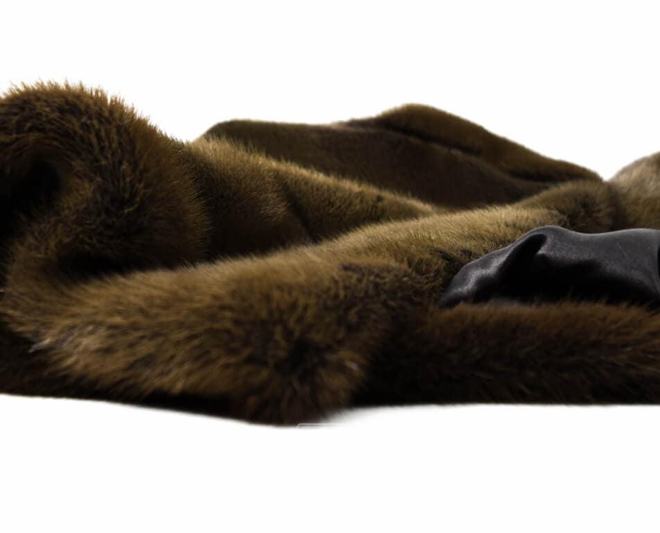 arreglar abrigo de vison