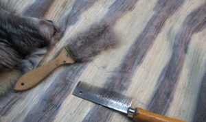 Arreglos de peleteria. Interior arreglo de abrigo de piel - arreglar abrigo de piel