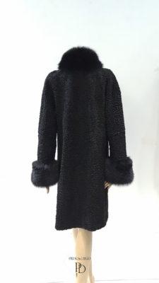 abrigo astracan antiguo