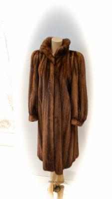 abrigo vison antiguo