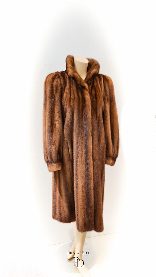 abrigo de vison antiguo