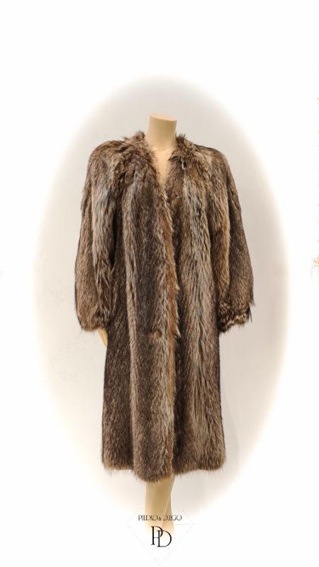 arreglo abrigo de marmota