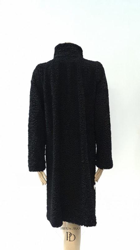 arreglar abrigo de astracan antiguo