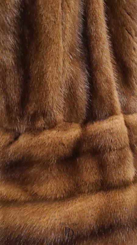 arreglo abrigo de vison ligero juvenil 6