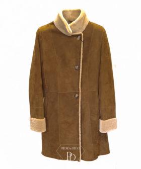 abrigo de cordero mujer