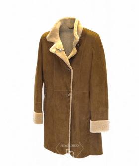 abrigo doble faz mujer