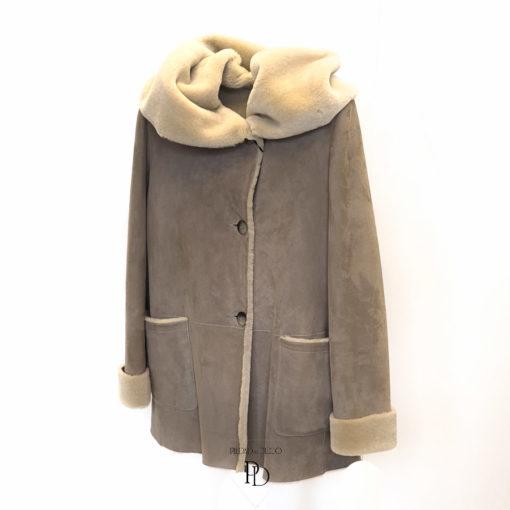 chaqueta de pelo cordero