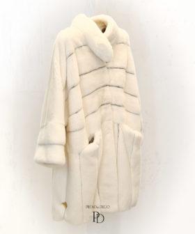 abrigo mujer visón
