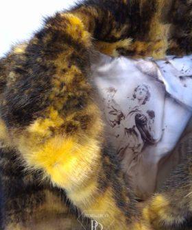 abrigo vison juvenil broza rvi 7