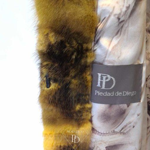 abrigo vison juvenil broza rvi 8
