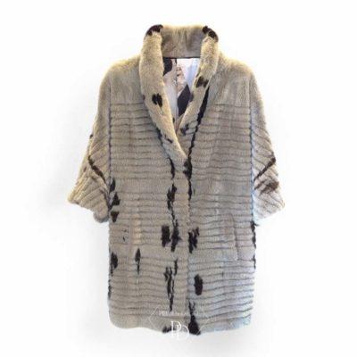 abrigo de vison moderno y juvenil