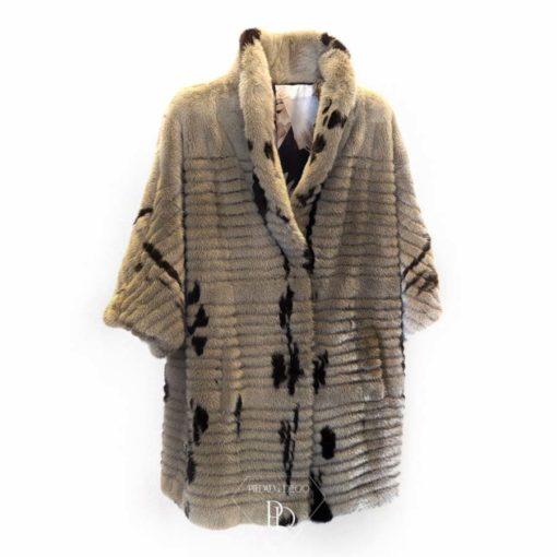 abrigo vison versatil