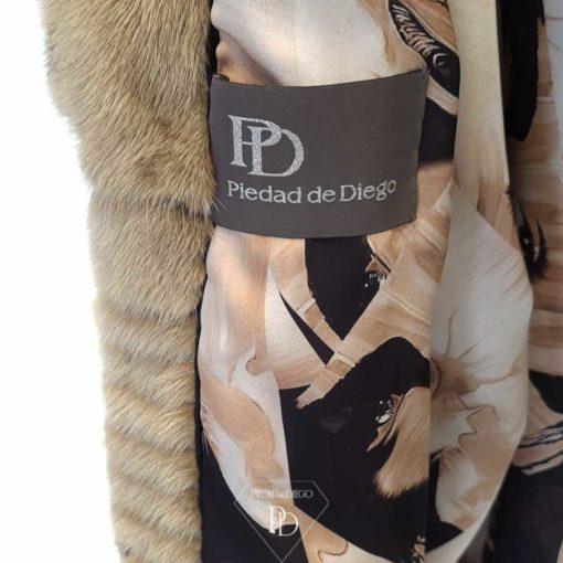 interior abrigo vison mujer