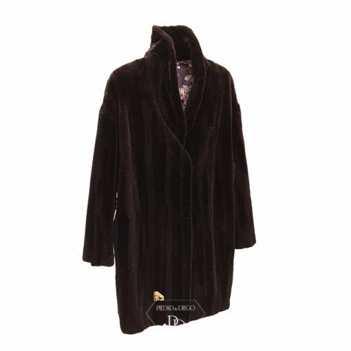 abrigo vison rasado golden 4