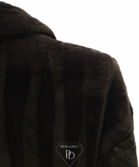 abrigo vison rasado golden 5