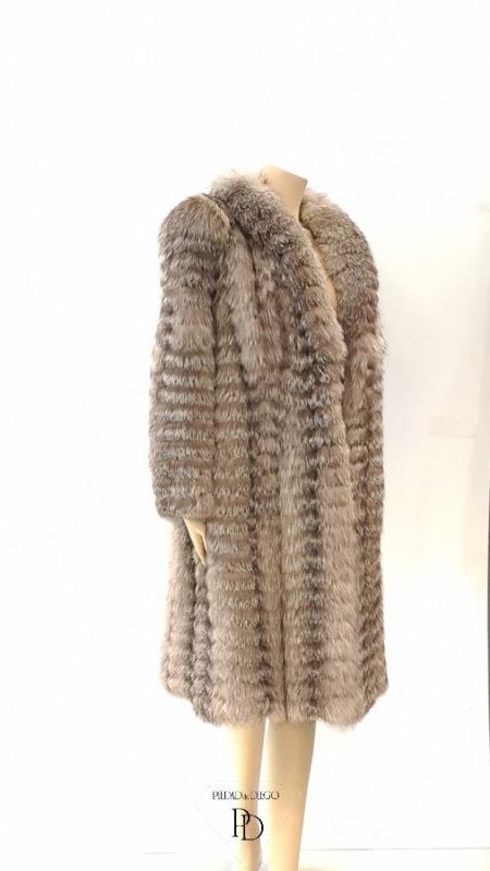 reciclar abrigo de piel
