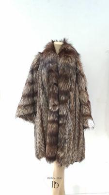 antiguo abrigo de zorro