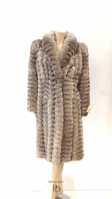 arreglo abrigo de zorro