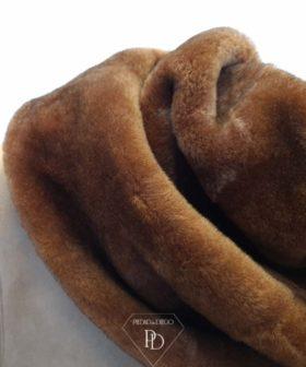 chaqueta cordero piel vuelta mujer F47 7