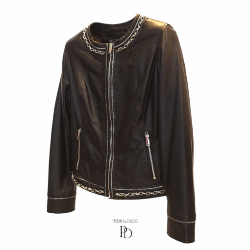chaqueta piel mujer alua 3