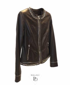 chaqueta mujer cuero