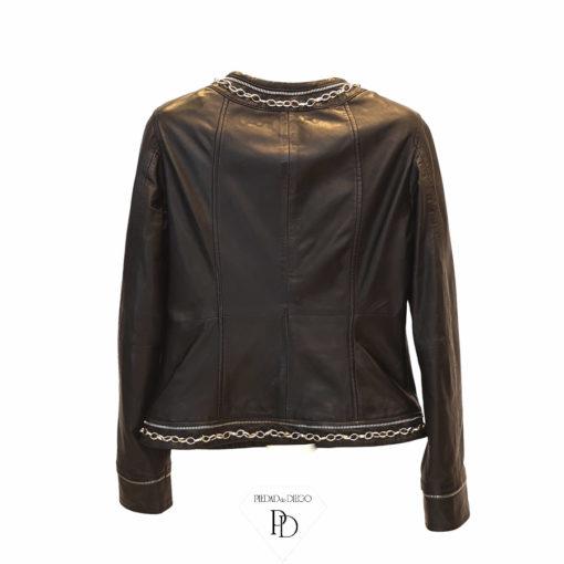 chaqueta piel mujer alua 5